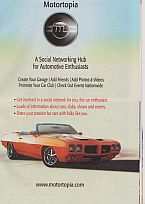 1970 GTO S/C Tiger Ad for Motortopia